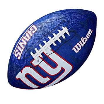 Wilson WTF1534XBNG Pelota de fútbol Americano NFL JR Team New York ...