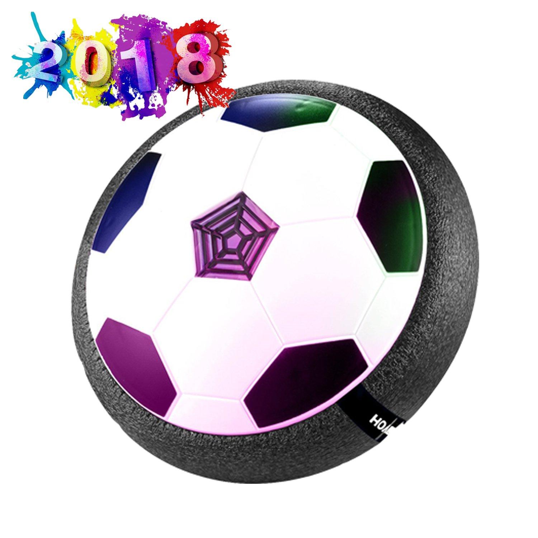 Air Hover Ball Juguete Balón de Fútbol Flotante Jugar Fútbol Tamaño 4 Niños Niñas Deportes Niños Juguetes Formación Fútbol Interior Buen Regalo para Navidad SZSMART