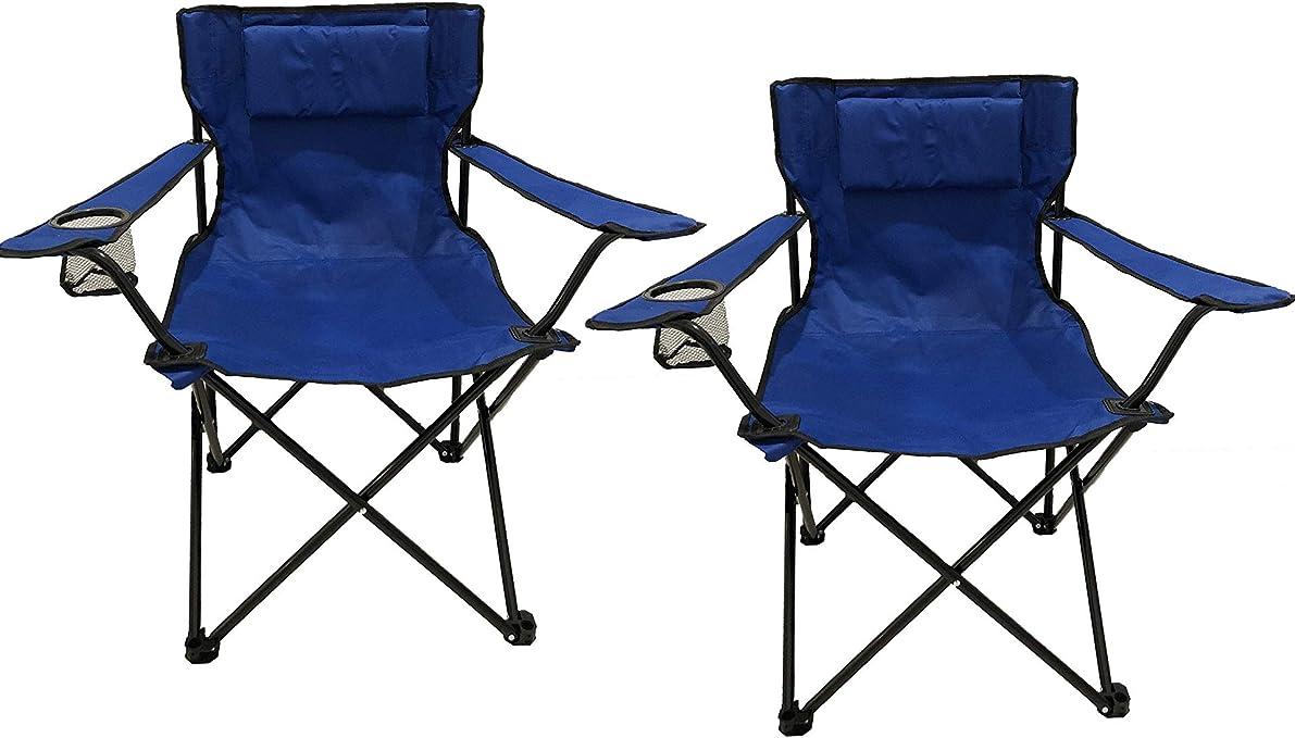 Homecall - Silla de camping (azul): Amazon.es: Jardín