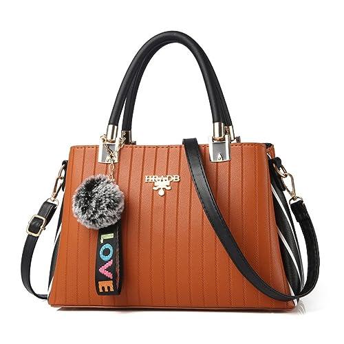 Dunland Bolsos de Mujer Bolso Hombro Bolso Bandolera Carteras bolsos diseñador bolso mensajero bolsa Bolso Señoras Tote 54 naranja: Amazon.es: Zapatos y ...
