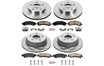 Autospecialty KOE4589 1-Click OE Replacement Brake Kit