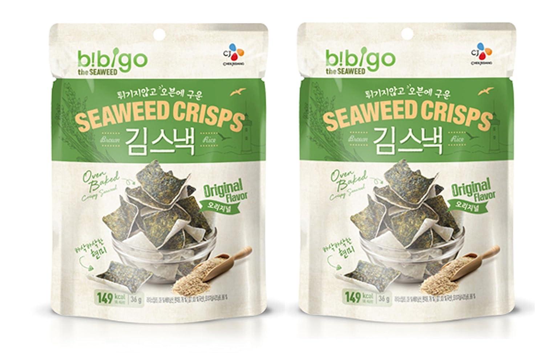 C&J Cj horno coreano al horno arroz y patatas fritas alga marrón ...