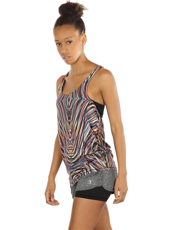 968e57a61c0ae icyZone - Camiseta X deportiva para Mujer