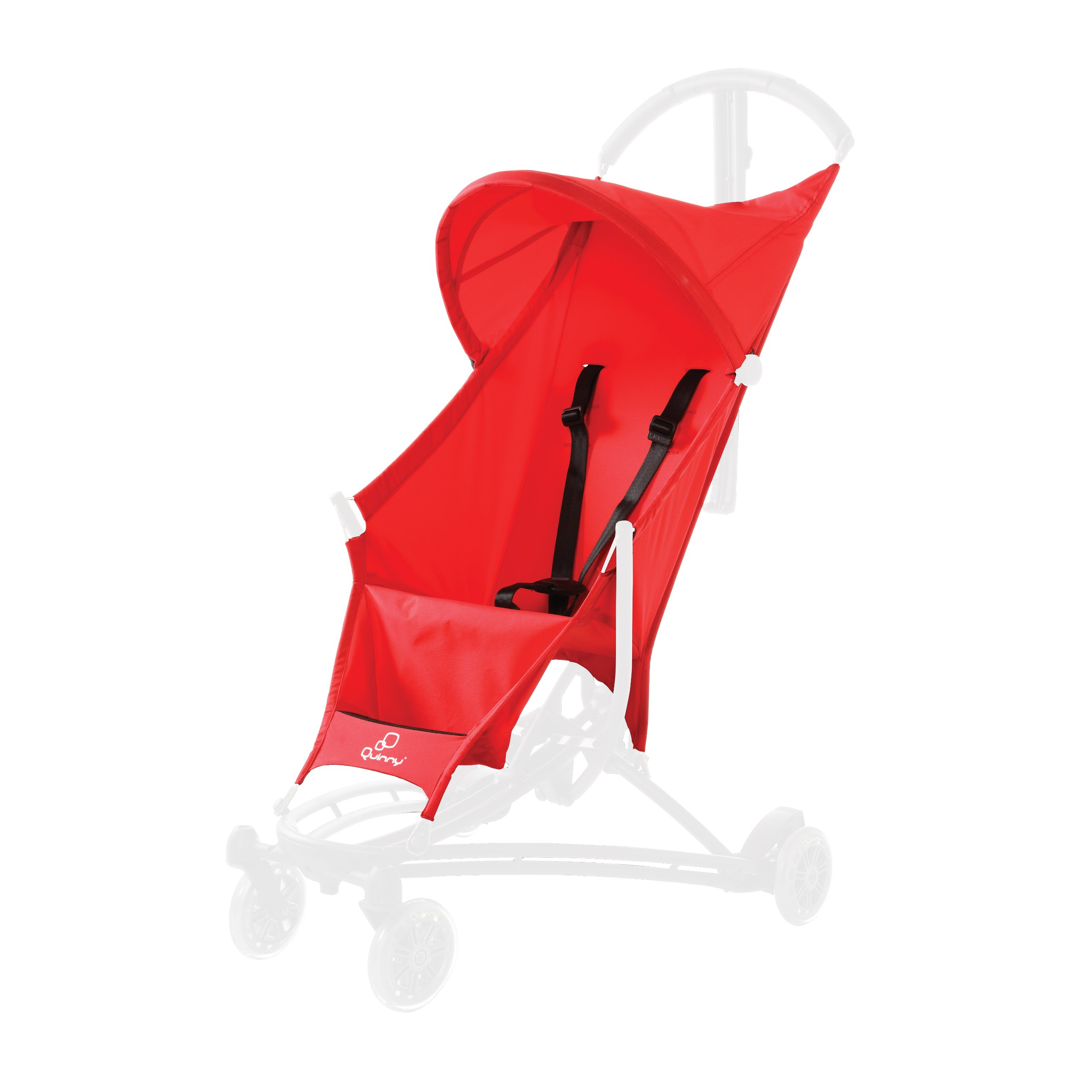 Quinny Yezz Stroller Seat Cover, Red Signal