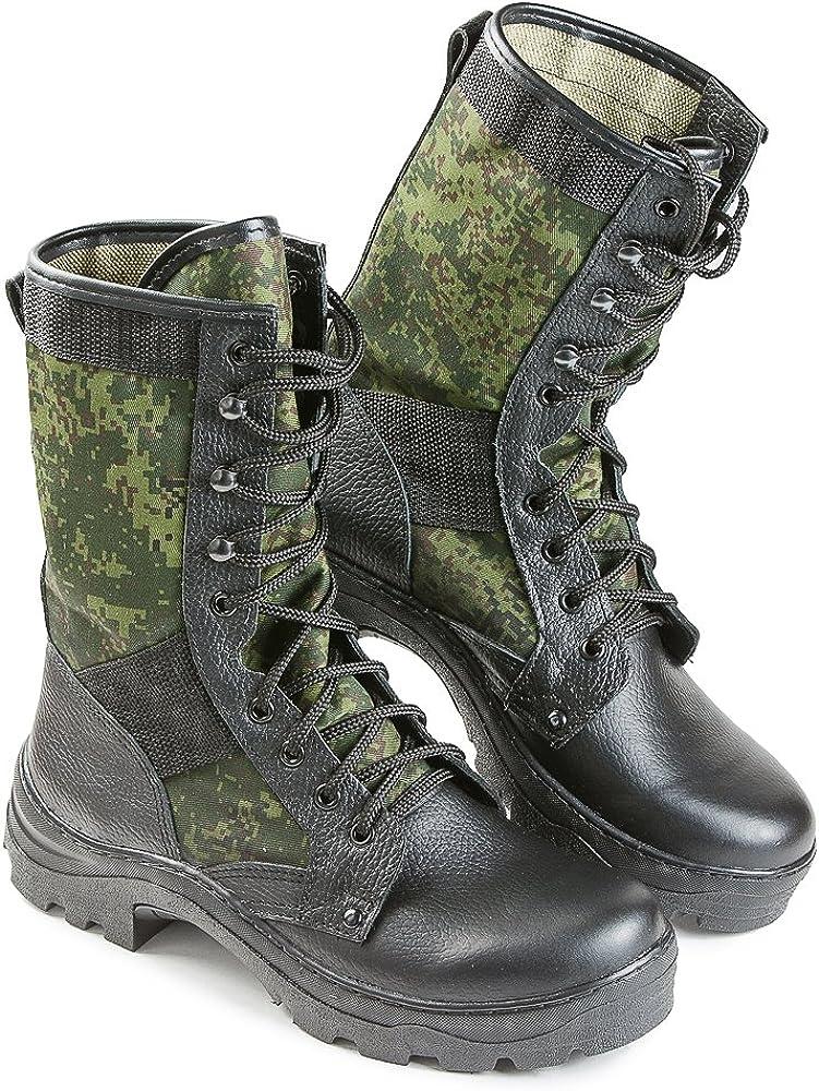 Amazon.com: Ejército Ruso Botas de piel verano Flora ...