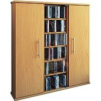VCM Santo-Torre para CD/DVD, para 450 CDs, Color