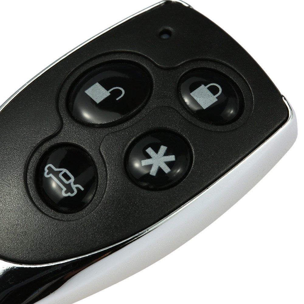 seguridad y protecci/ón 2 mandos a distancia KKmoon Sistema de alarma antirrobo para coche o veh/ículo