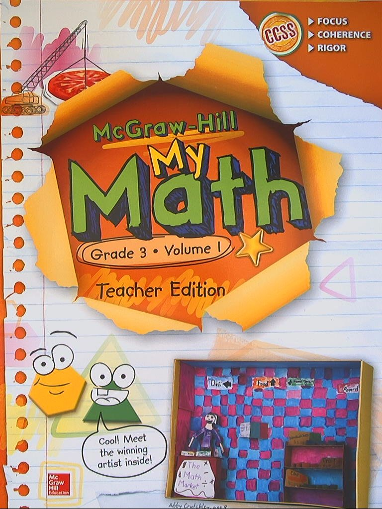 Amazon.com: McGraw-Hill My Math, Grade 3, Teacher Edition, Volume 1 ...
