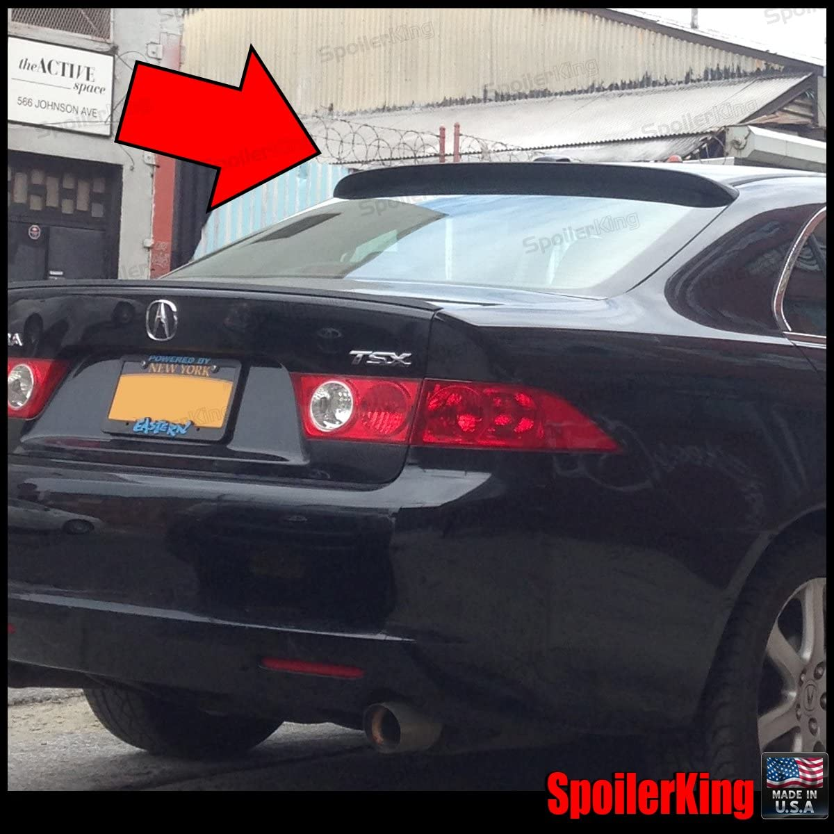284R compatible with Acura RSX 2002-2006 DC5 Spoiler King Roof Spoiler