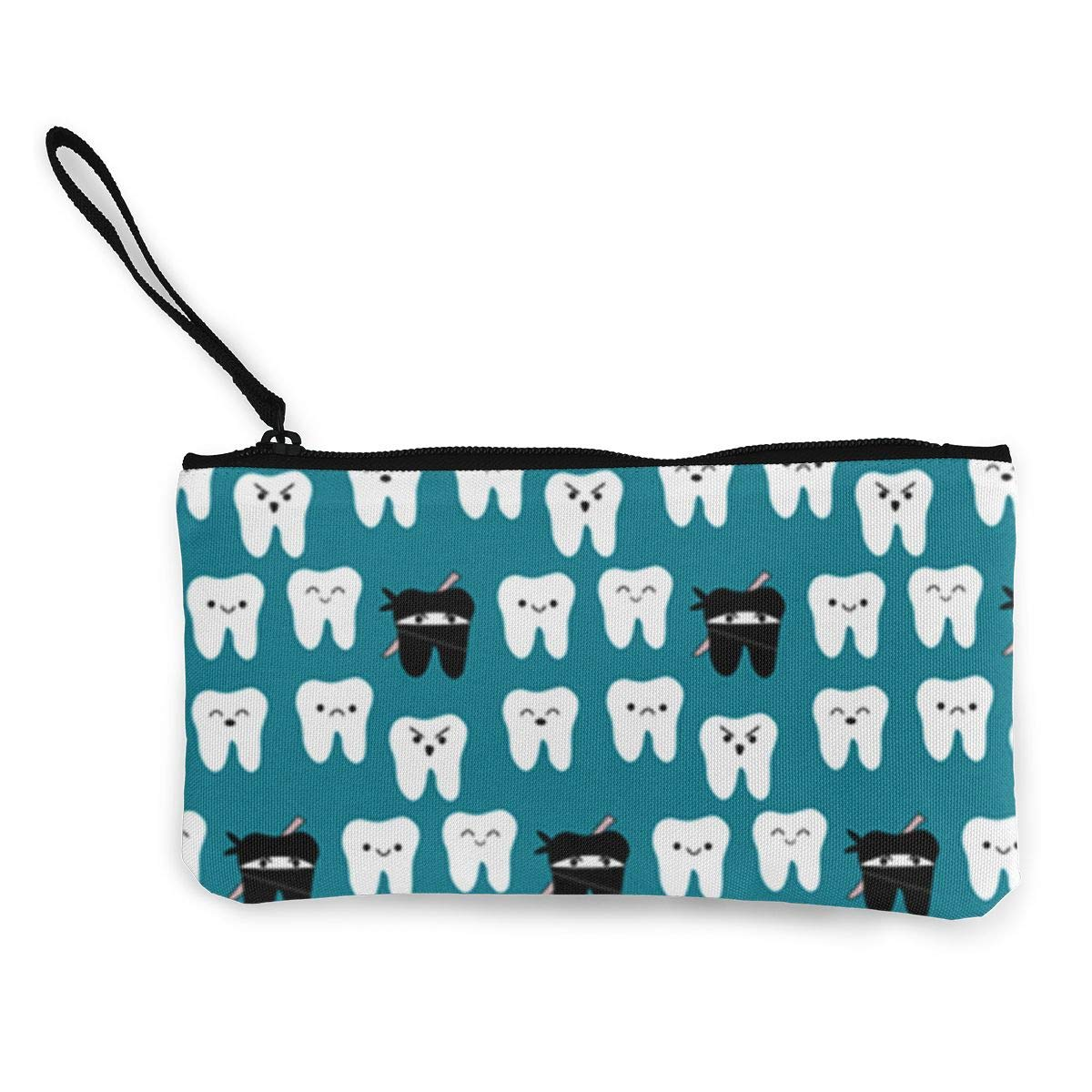 Amazon.com: Coin Pouch Tooth Fabric Way Of The Ninja Tooth ...