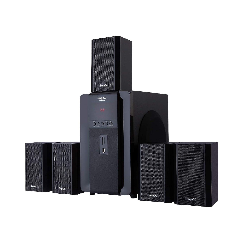 Impex 5.1 FUSION 140 W Multimedia Bluetooth Speaker System