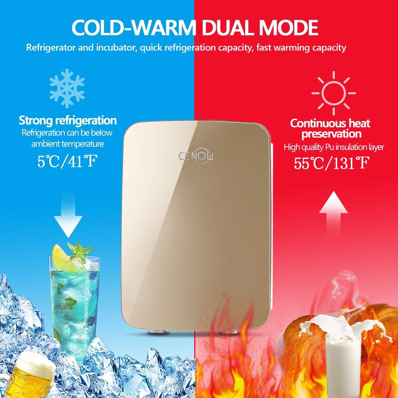 Amazon.com: Mini nevera con enfriador y calentador, nevera ...