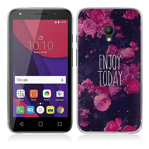 4 opinioni per Alcatel One Touch Pixi 4 (5) OT-5045X (5.0inch) Cover, Fubaoda Alta qualità 3D