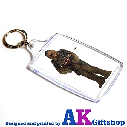 AKGifts Star Wars Chewbacca Doble Cara Llavero de Regalo de ...