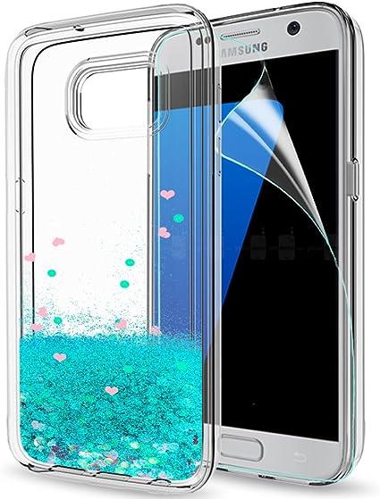 fundas Samsung Galaxy S7 protector pantalla bateria 9x tapa cases ...