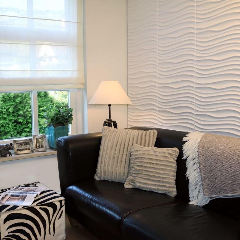Panneau Mural 3D Pour Deco Murale I Revetement Mural Wallart I 12 Plaquettes de parement 3d Maxwell Pour Decoration Murale I Mur 3d