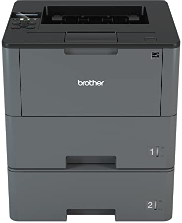 Brother HLL6200DWT Wireless Monochrome Printer with Dual Paper Tray