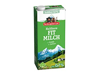 Berchtesgadener Land Haltbare Fit Milch 07 Fett 1 L Amazonde