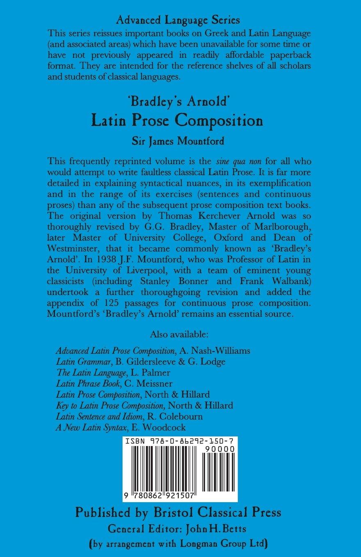 Bradley's Arnold Latin Prose Composition (Latin Language) by Bristol Classical Press