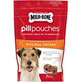Milk-Bone Pill Pouches With Real Chicken Dog Treats (Pack Of 5)