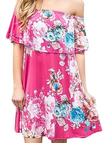 Elsa Steen – Camisas – Sin mangas – para mujer rosa rosa
