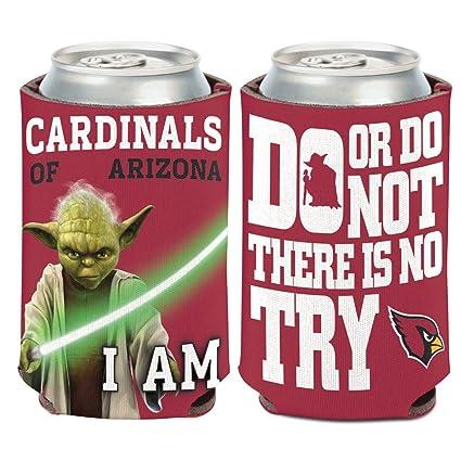 Wincraft NFL Star Wars Yoda 12 Ounce Can Coozie (Arizona Cardinals) b58e568cc