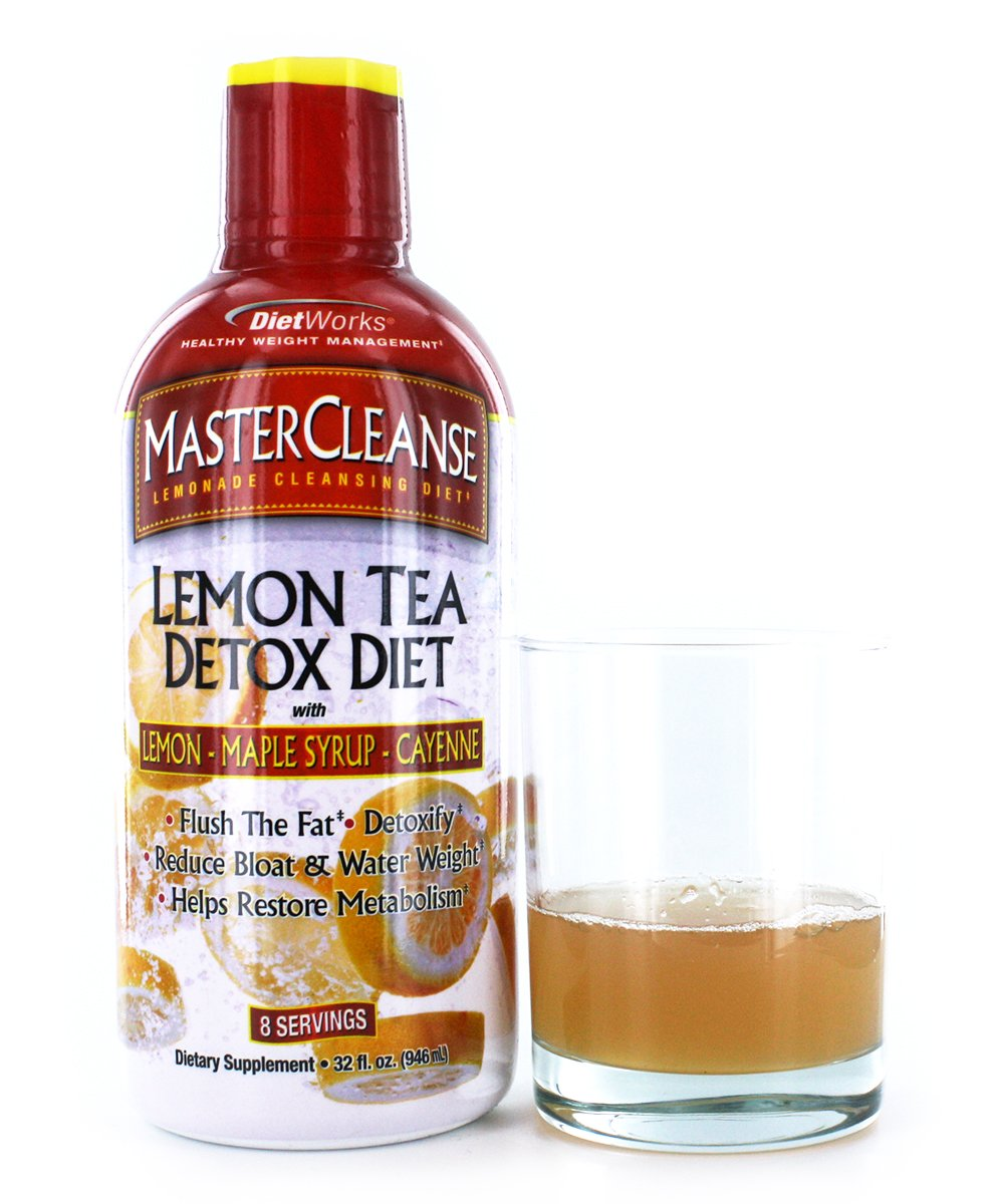Amazon Dietworks Master Cleanse Lemon Tea Detox Formula 8