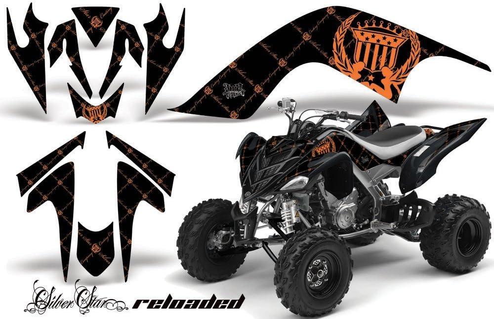 Silver Star Amr Racing Yamaha Raptor 700 Atv Quad Graphic Kit Reloaded Bla Auto