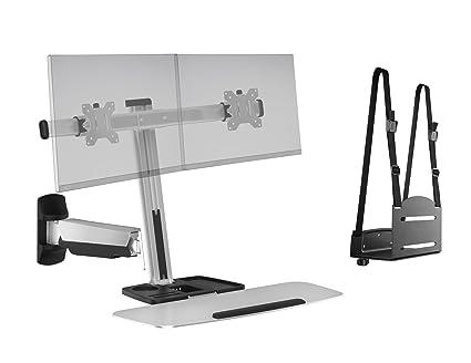 Amazon Com Ergotech Fdm Lift 2 Wm Freedom Lift Sit Stand Wall