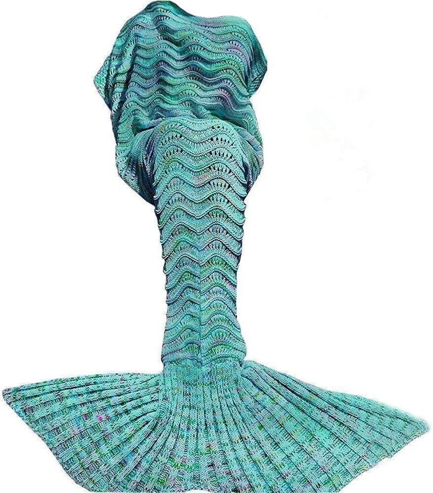 Top 10 Best Mermaid Tail Blankets (2020 Reviews & Buying Guide) 2