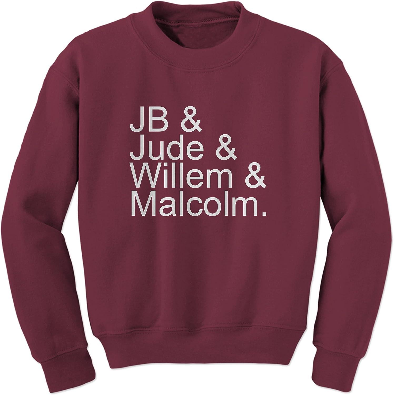 Willem Jude Malcolm Crewneck Sweatshirt FerociTees JB