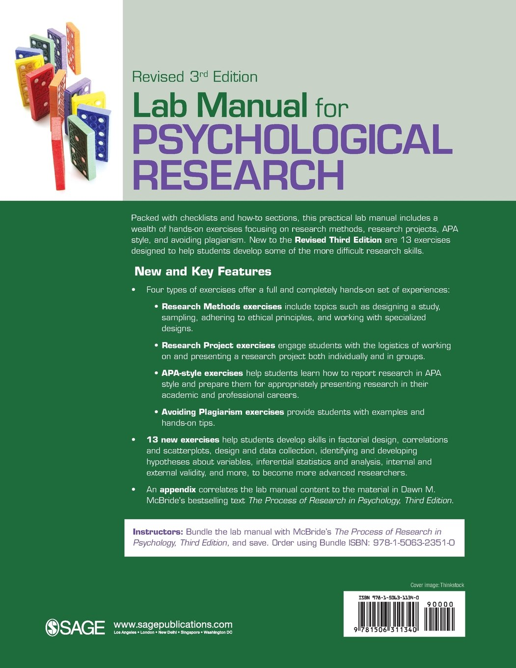 Lab Manual for Psychological Research: Amazon.co.uk: Dawn M. Mcbride, J.  Cooper Cutting: 9781506311340: Books