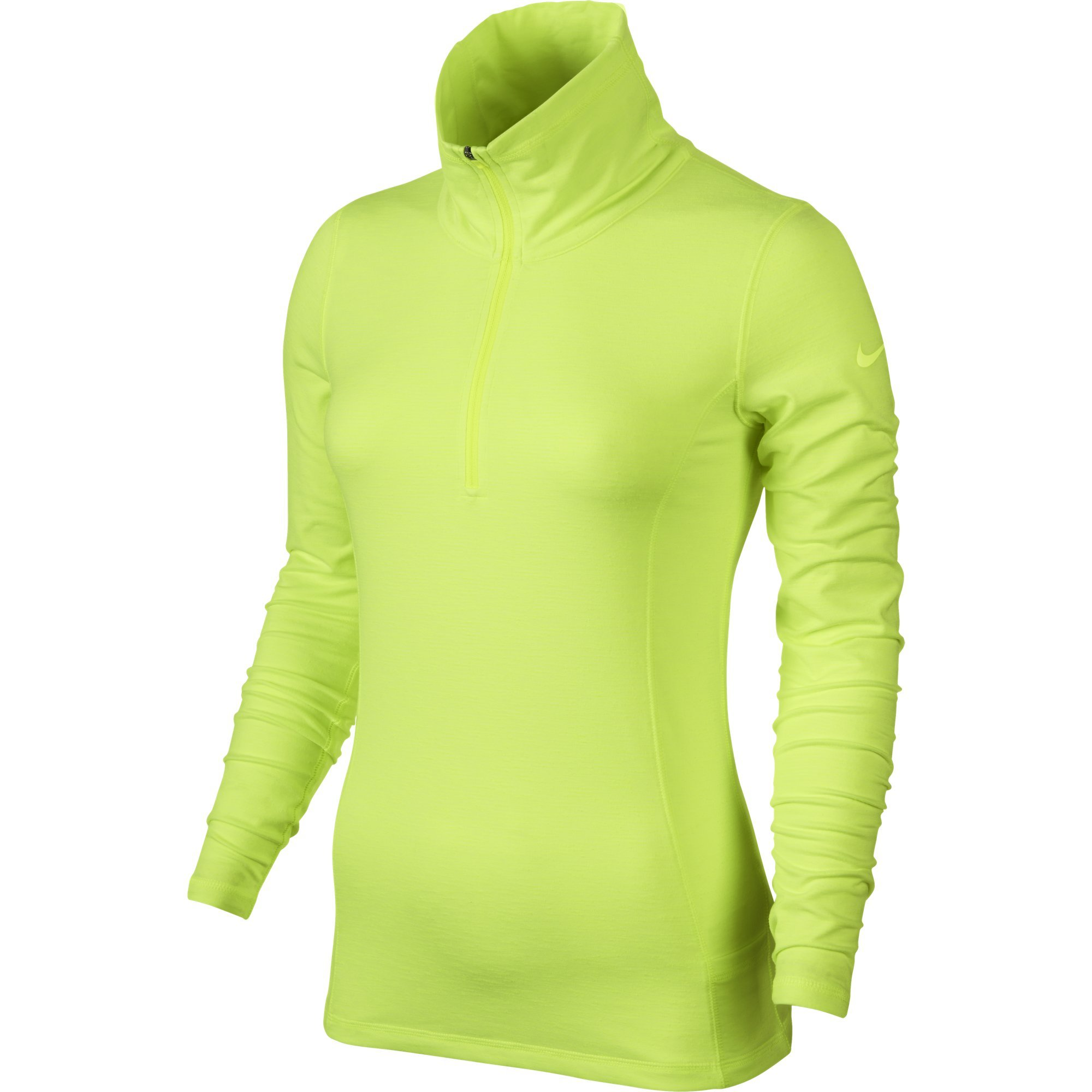 Nike Womens Hyperflight 1/2-Zip Volt Medium