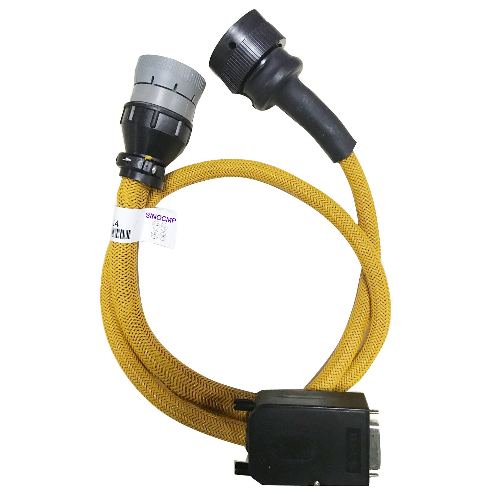 14 Pins Connector Cable - SINOCMP Cable for Cat Caterpillar ET 3 Aftermarkets Parts, 3 Month Warranty by SINOCMP
