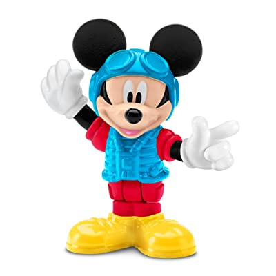Fisher-Price - Disney Mickey Mouse Clubhouse – Pilot Mickey: Toys & Games