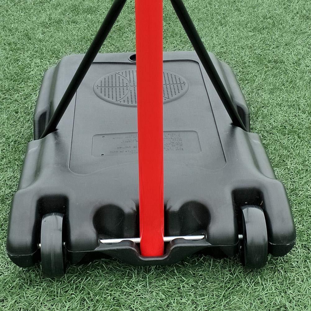 Bulary Black & Red Portable Removable Adjustable Teenager Basketball Rack by Bulary (Image #2)