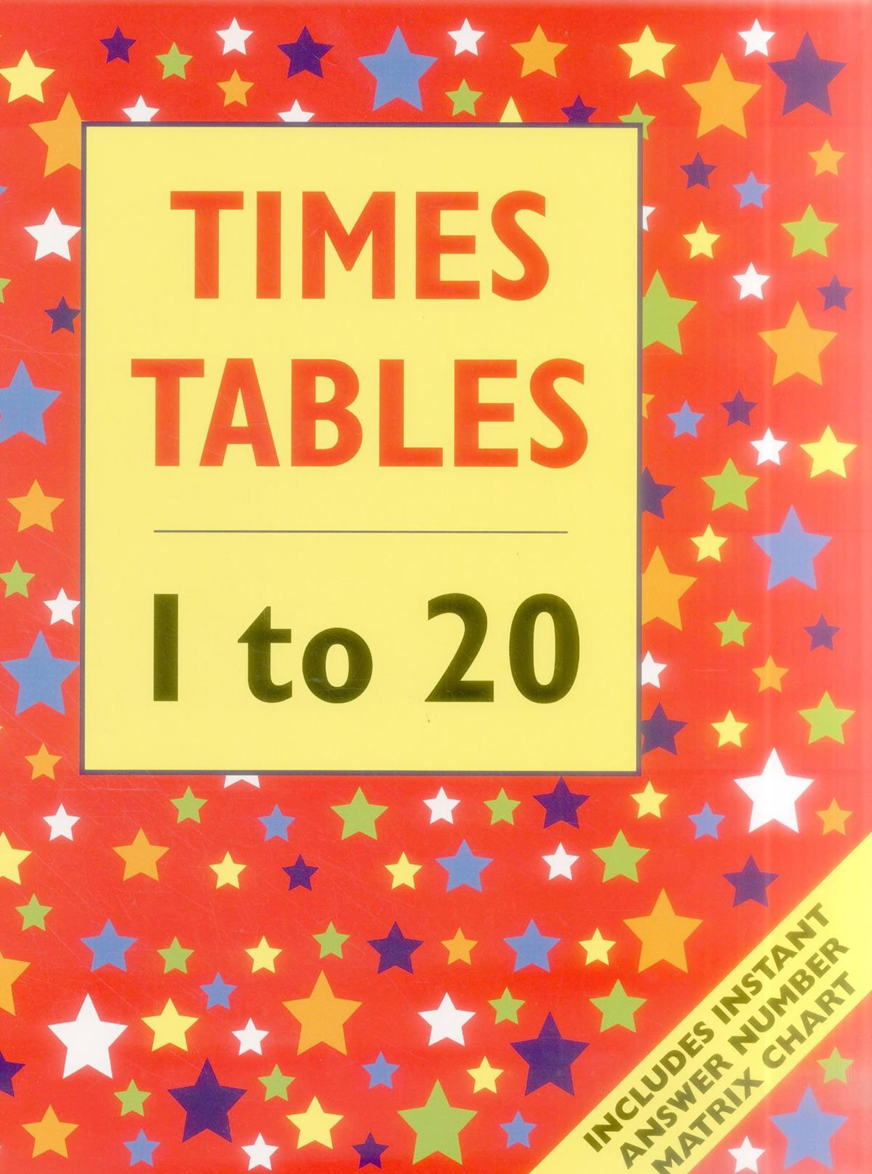 Worksheets 1to 20 Tables Charts times table 1 to 20 floor book includes instant answer number matrix chart armadillo publishing 9781861474735 amazon com boo