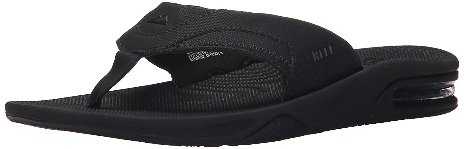 REEF R2026ALB, Chanclas Hombre, Negro (All Black), 36 EU