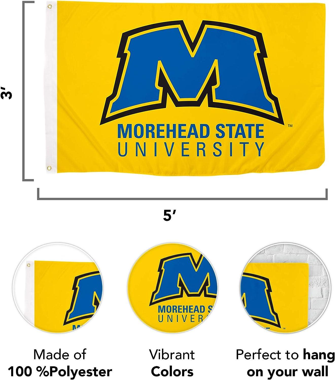 Desert Cactus Morehead State University NCAA 100/% Polyester Indoor Outdoor 3 feet x 5 feet Flag Style 2a