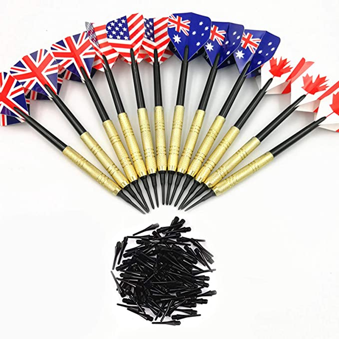 3Pcs Soft Tip Darts 18g Dart For Electronic Dartboard Tips with Extra Q4D8