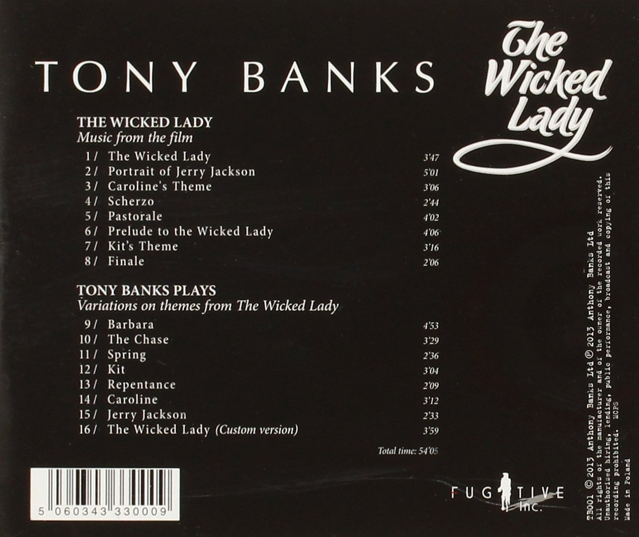 The Wicked Lady - PLUS Variations on themes from The Wicked Lady by Tony Banks: Tony Banks & The National Philharmonic Orchestra: Amazon.es: Música