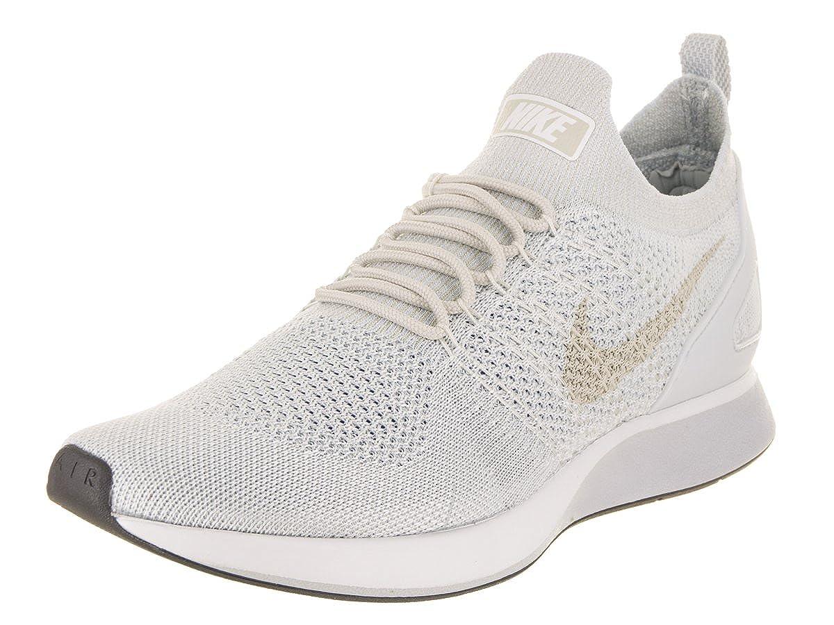 b7ac9cca62d Nike Men s Air Zoom Mariah Flyknit Racer Pure Platinum Dark Grey Running  Shoe 8 Men US  Amazon.co.uk  Shoes   Bags