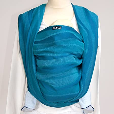 Didymos Baby Carrier Waves – Aqua, Size 6 Discontinued by Manufacturer
