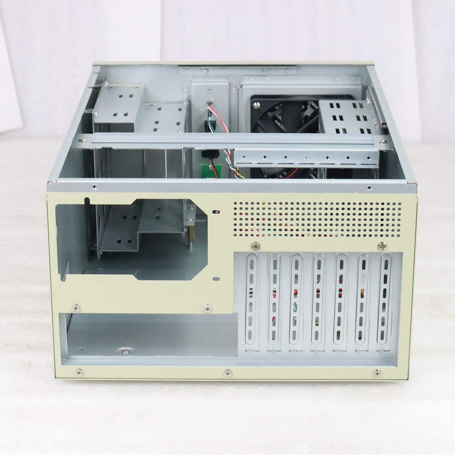PA broadcasting system paging finance airport engineering JINDIAN 7 slot wall mounted case is used for computer data network wiring bank securities engineering Empty case subway sound system