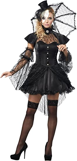 Generique - Disfraz muñeca gótica Mujer Halloween M (40/42 ...