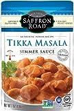 Saffron Road Simmer Sauce, Tikka Masala, 7 Ounce (Pack of 8)