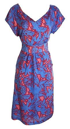 95b2d2e331e Ex White Stuff Ladies Summer blossom Floral Border Summer Tea Sun Dress  8-18 (
