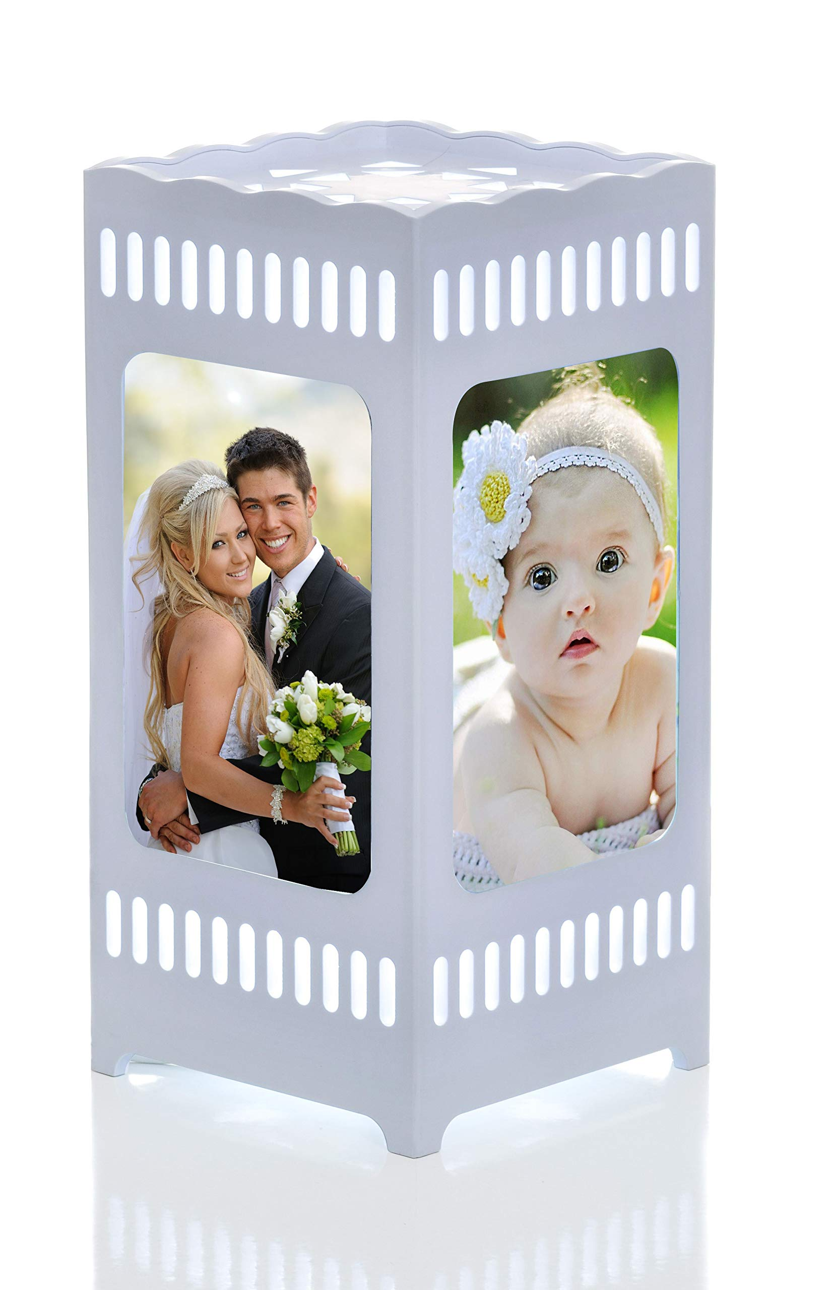 Gift&love Decorative Night Lamp & Picture Frame. Great For Unique Present-Birthday- Wedding-Anniversary-Graduation-Housewarming- Baby Shower Gift-Family Photos-Children's Room-Living Room-Office by Gift&Love