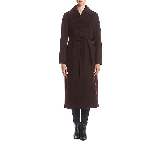Amazon.com: Forecaster Belted Wool Maxi Coat: Clothing
