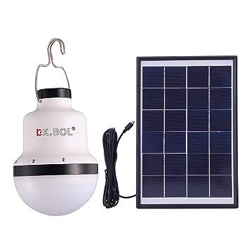 BOL solar LED lámpara de luces para el hogar luz interior luz de emergencia